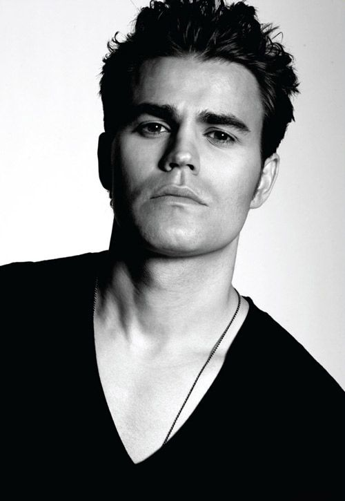 Paul Wesley Dec 2012 Glow Magazine