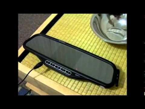 Wireless reversing camera & mirror with bluetooth handsfree kit