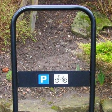 York Cycle Stand. Overall Height:1100mm. Width:750mm. Diameter:48mm. Root Fixed…