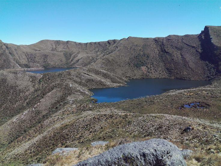 While looking for beautiful landscapes surrounding Bogotá, we found Chingaza…