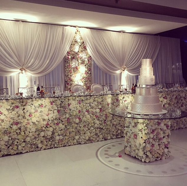 Wedding Reception Head Table Ideas: 231 Best Backdrops Images On Pinterest
