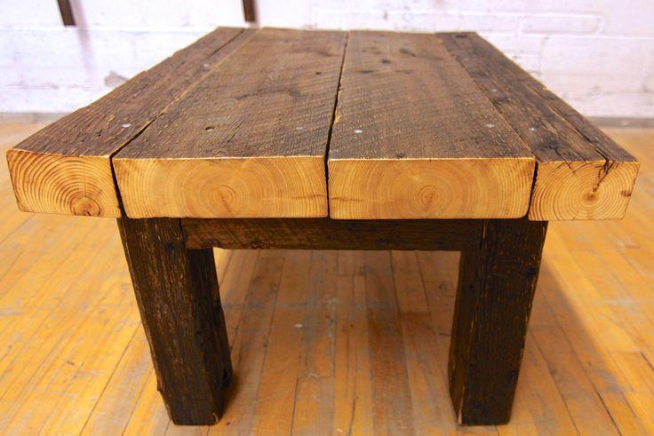 44 best table bois images on pinterest home ideas for - Table a manger sur mesure ...