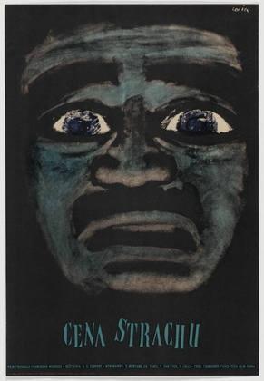 Cena Strachu (1960) | Jan Lenica (Polish, 1928–2001)