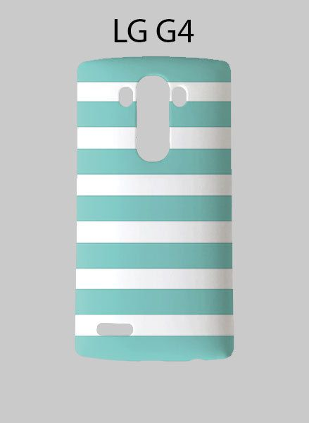 Tiffany Striped LG G4 Case Cover