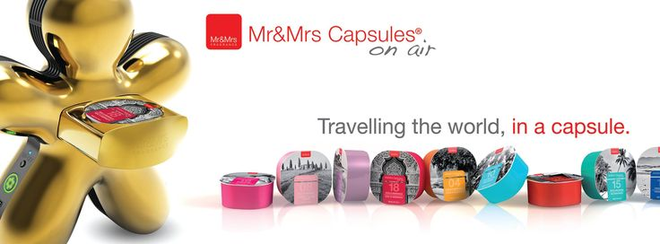 Capsules on Air® Travelling the World, in a capsule