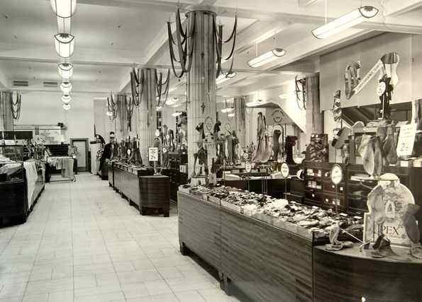 Memories from Lewis's department store in Liverpool of the sales floor in the 1960's.
