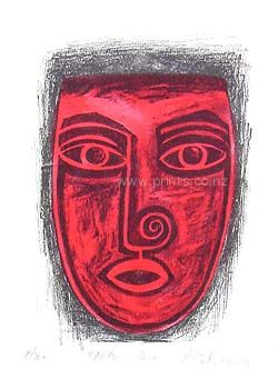 Check out Upoko Whero by Robyn Kahukiwa at New Zealand Fine Prints