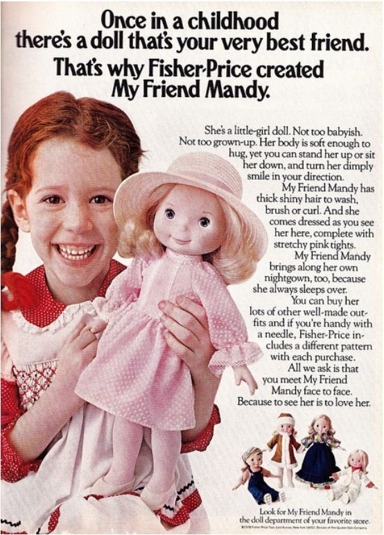 'My Friend Mandy' Doll