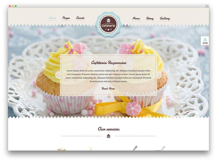 29 best images about Bakery Website Design Ideas on Pinterest