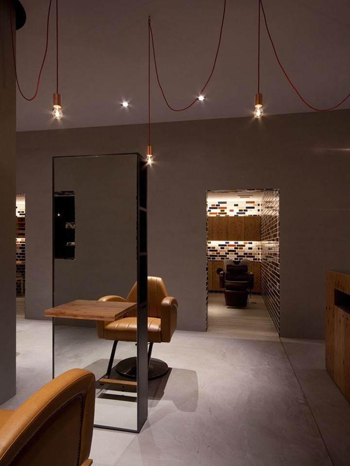 Max co store by andrea tognon architecture milan retail for Beauty salon designs for interior