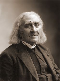 Franz Liszt (Raiding, Imperio austríaco, 22 de octubre de 1811-Bayreuth, Imperio alemán, 31 de julio de 1886) fue un compositor austro-húngaro romántico, un virtuoso pianista, profesor, director de orquesta y franciscano seglar. Su nombre en húngaro era Liszt Ferencz, según el uso moderno Liszt Ferenc, y desde 1859 hasta 1865 fue conocido oficialmente como Franz Ritter von Liszt.