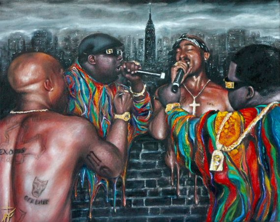 Tupac And Biggie Art | www.pixshark.com - Images Galleries ...