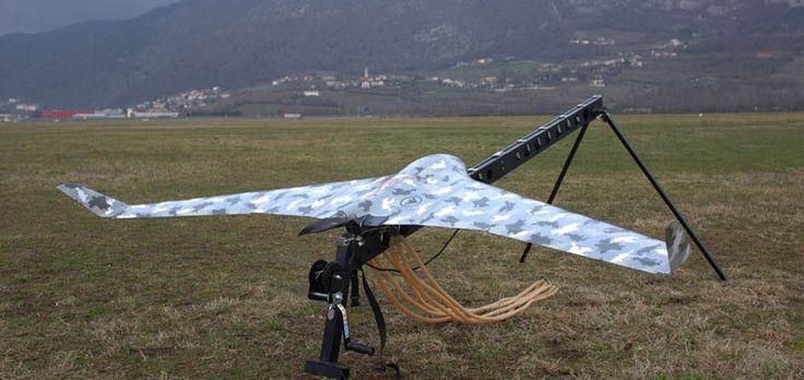 Landslide surveying UAV