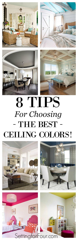 Best Ceiling Color best 25+ ceiling color ideas on pinterest | diy ceiling paint