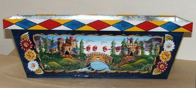 Canal Arts by Terence - Artwork - Canalware - 'Roses and Castles' - Special Commissions