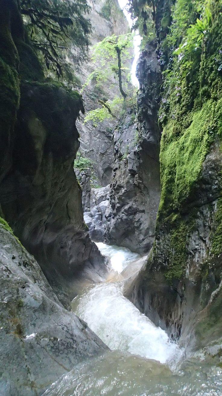 Barranco de las Gloces. Fanlo (Pirineo de Huesca). www.altopirineo.com
