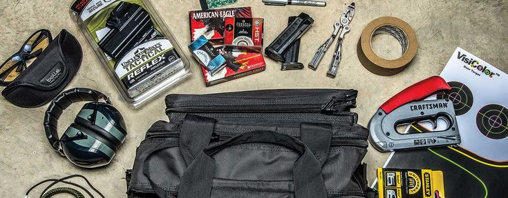Be prepared when you go to the shooting range with all the right gear to maximize time and keep you on target by building the ultimate shooting range bag.