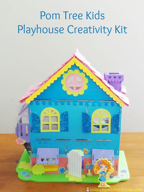 Pom Tree Kids Playhouse Creativity Kit PomTreeKids