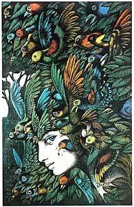 He called himself an illustrator, but he was also an artist. No dubt!  Hans Arnold