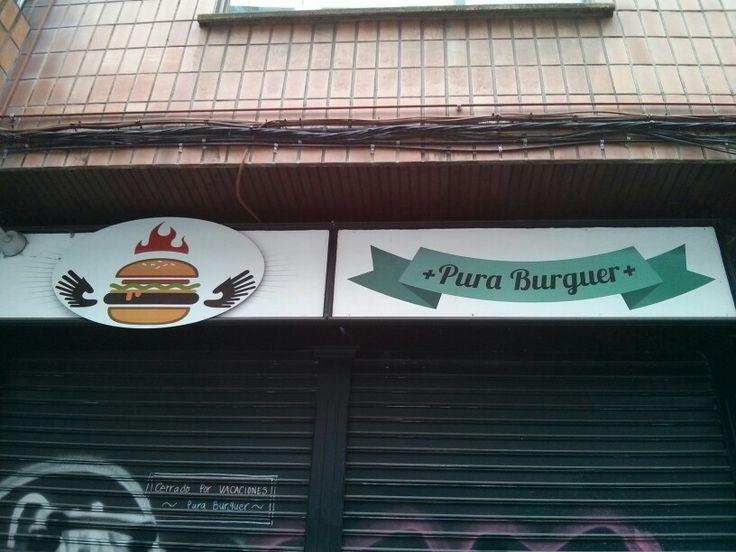 Pura Burguer, la que fue mi hamburguesería favorita en Bilbao.