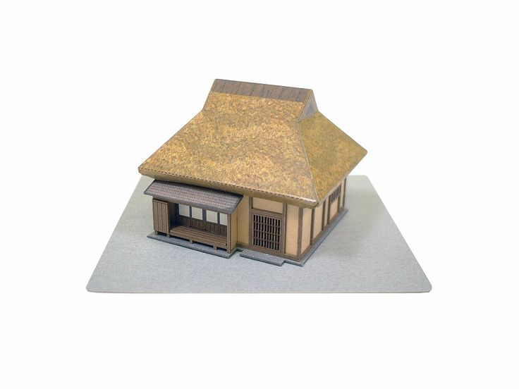 楽天市場 田舎家 みにちゅあーとプチ 紙模型 ペーパークラフト