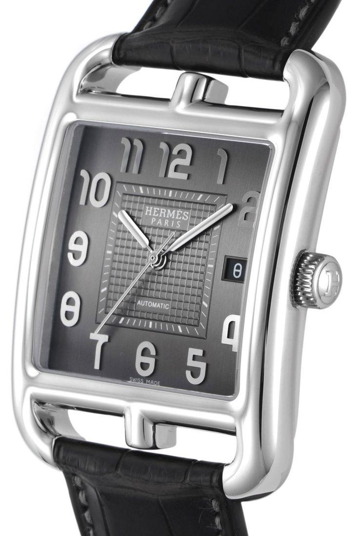 Amazon.co.jp: [エルメス]HERMES 腕時計 ケープコッド グレー文字盤 自動巻 アリゲーター革 CD6.710.230/MGA メンズ 【並行輸入品】: 腕時計通販