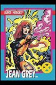 *Formally known as Marvel Girl, Jean Grey is gifted with the psychic powers of telepathy (the power to read minds) and telekinesis ( the power to move things through the use of mental force alone). By