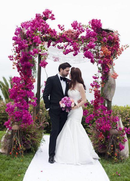 Arco de Flores na Decoração de Casamento