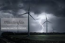 wind turbine in stormy sea - Google Search