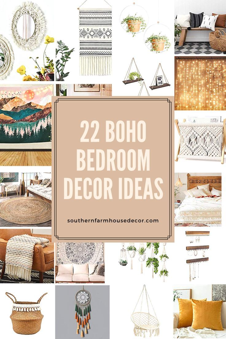 22 Affordable Boho Bedroom Inspiration Ideas In 2020 Boho