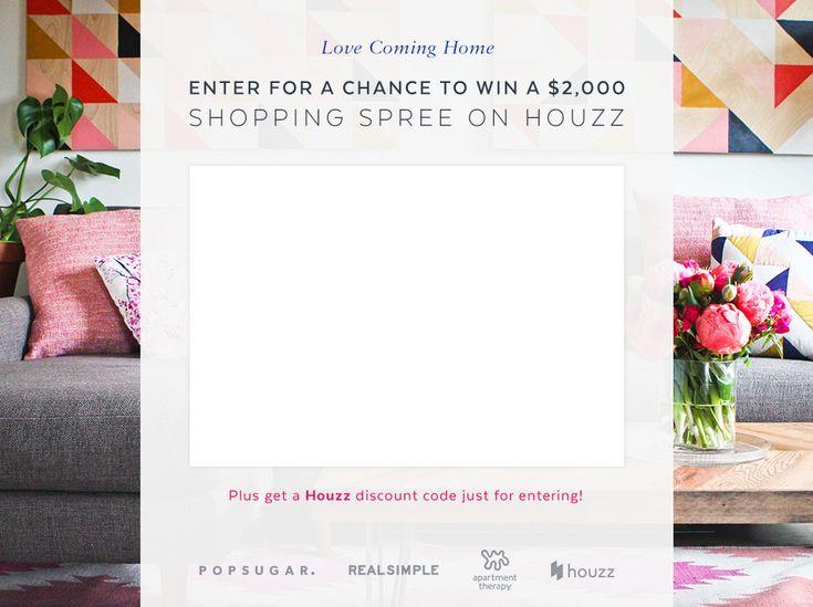 Houzz $2,000 Giveaway