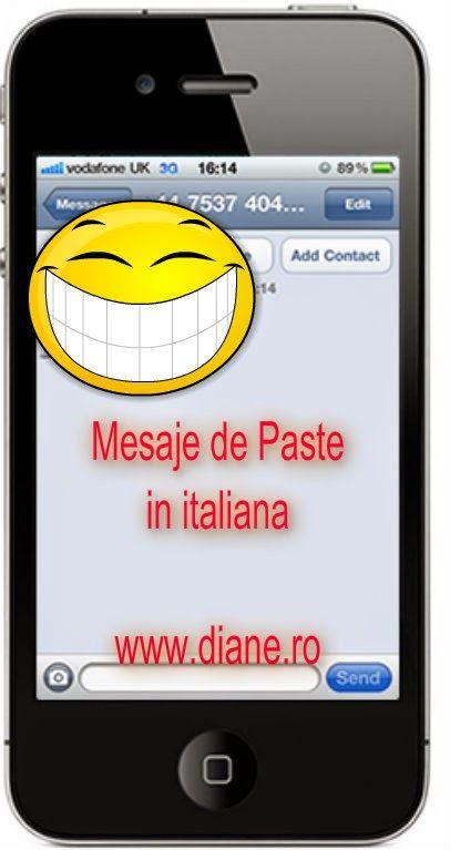 mesaje de Paste italieni