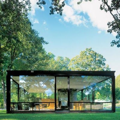The glass house. Philip Johnson