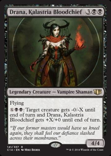 Drana-Kalastria-Bloodchief-x4-Magic-the-Gathering-4x-Commander-2014-mtg-card