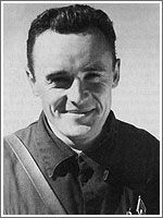 RUSSIAN SPACE FIRSTS ~ Sergei Pavlovich Korolev (1907-1966) is widely regarded as the founder of the Soviet space program. He  led the development of the world's first ballistic missile, known today as the R-7, which became a base for a long-lasting family of space boosters, carrying Russian cosmonauts into orbit for decades to come.