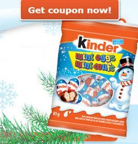 Get a Coupon For Free Kinder Mini Eggs  *Offer Ends on Dec 7*  http://freebabystuff.ca/coupons/kinder-mini-eggs/