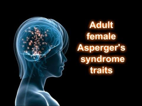 Adult female Asperger's syndrome traits - Slower and sensory friendly version