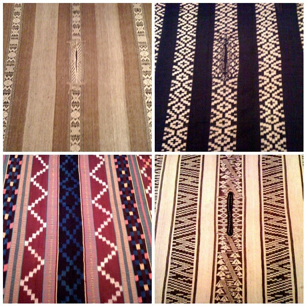 examples of Mapuche weaving