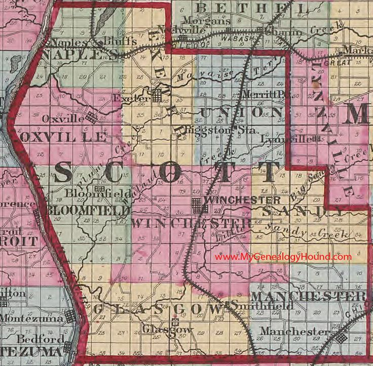 50 best Vintage Illinois County Maps images on Pinterest Family