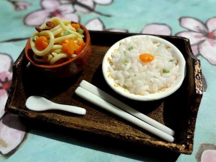 Rice and Ramen by WaterGleam on DeviantArt
