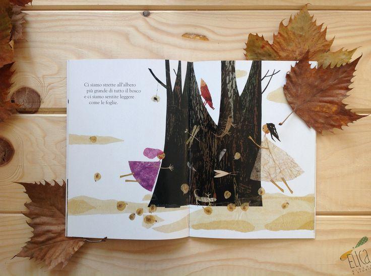 """""""Il bosco delle meraviglie e la scoperta dell'amicizia"""", di Hoda Haddadi, Terre di Mezzo. Autunno. Laboratori per bambini con foglie. Creatività."""