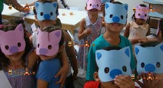 Máscara de EVA    PARÁBOLA - FILHO PRÓDIGO