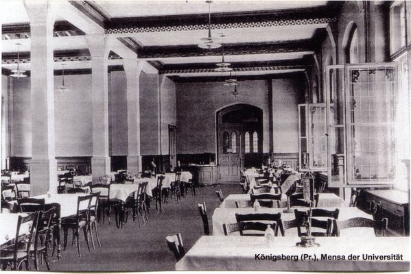Königsberg, Mensa der Universität