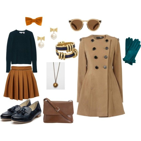 Cute 1940s outfit I created on polyvore. Daniel would love this. <3