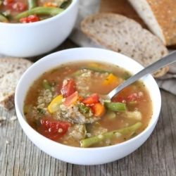 Vegetable Quinoa Soup #pavelife #cook #food