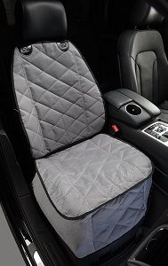 Bucket Seat Cover for your dog - fits most cars, trucks, SUVs. These bucket seat covers for your pet are made with weatherproof heavy duty quilted polyester material with reinforced straps.
