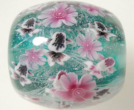 Fused Glass Japanese White Eye