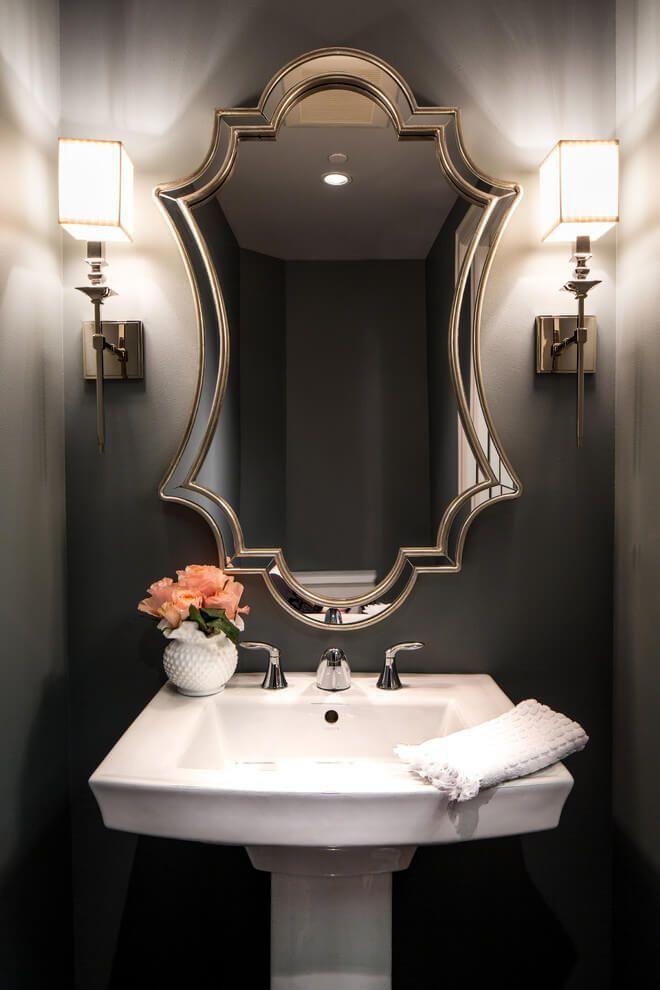 25 Best Half Bathroom Ideas For Beautiful Design Small Red Decor Bathrooms Designs