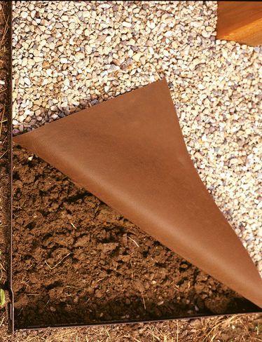 Roc kloth brown 4 x 50 outdoor pinterest 50th for Decorative stone garden border