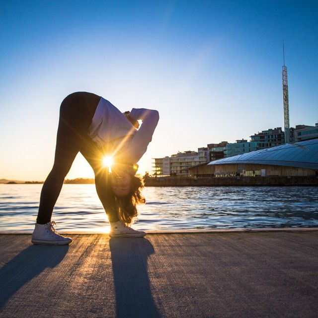 yoga, parsvottanasana